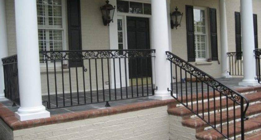 Front Porch Wrought Iron Railings Google Search
