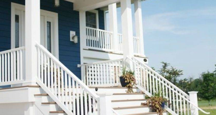 Front Steps Railing Home Design Ideas Remodel