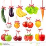 Fruits Vegetables Christmas Decoration