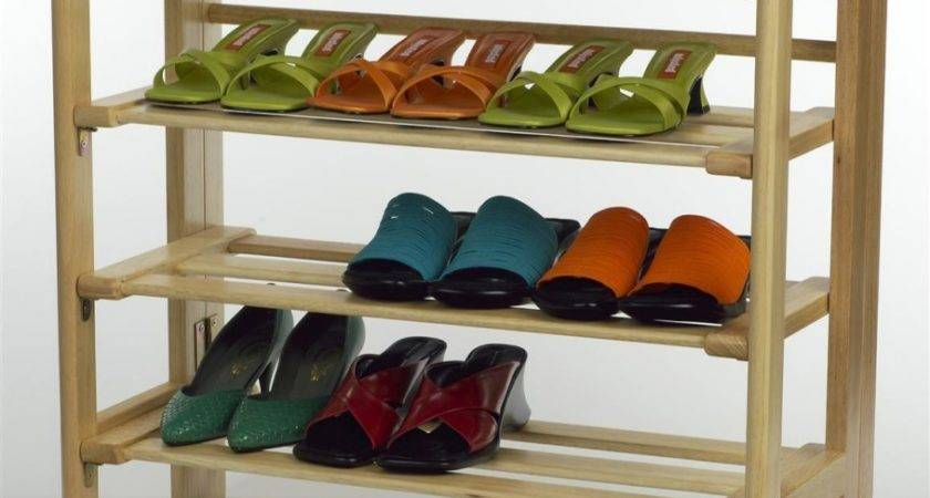 Furniture Functional Outdoor Shoe Rack Simple