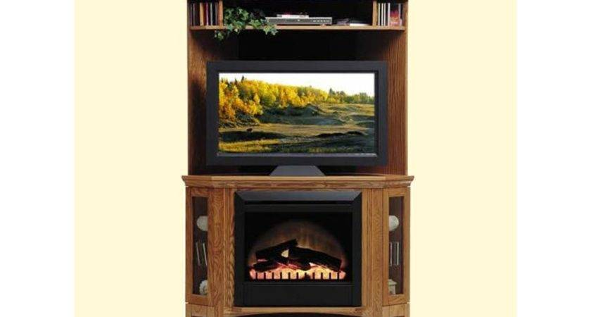 Furniture Outstanding Corner Electric Fireplace Stand