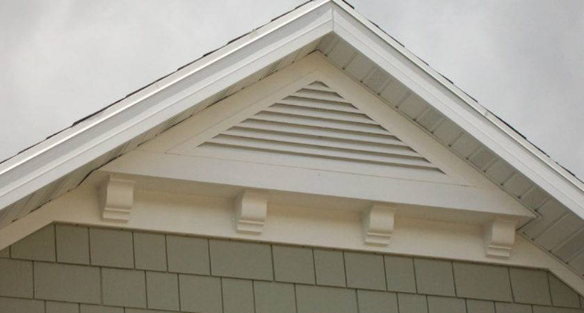 Gable Attic Vent Louvers Traditional Other Metro