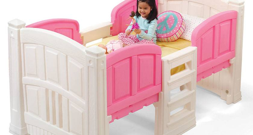 Girl Loft Storage Twin Bed Kids Step