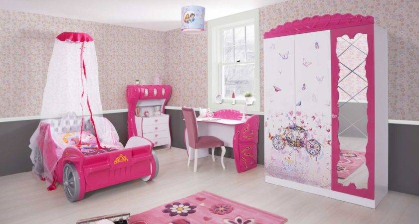 Girls Bedroom Set Pink Furniture