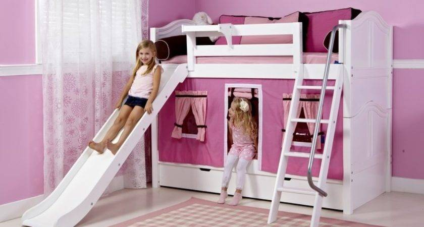 Top 22 Photos Ideas For Bunk Beds For Girls With Slide Barb Homes