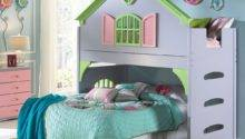 Girls Castle Bunk Bed Hot