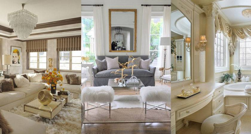 Glam Interior Design Inspiration Take Pinterest