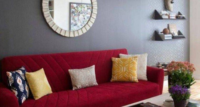 Glamorous Living Room Paint Ideas Red Decorative