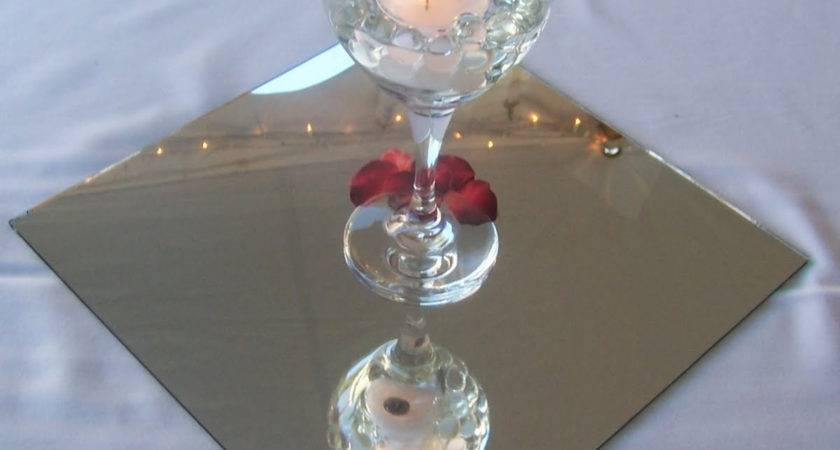 Glass Cylinder Vases Mirror Tiles Needed Knot