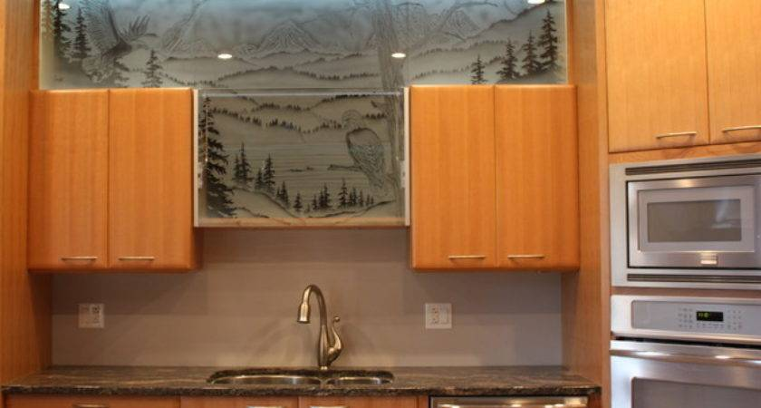 Glass Kitchen Cabinet Doors Interior