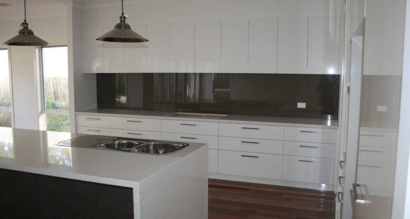 Glass Tiled Splashbacks Kitchens All Home Design