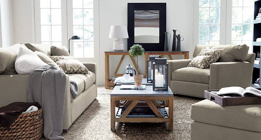Glorious Crate Barrel Coffee Table Decorating Ideas
