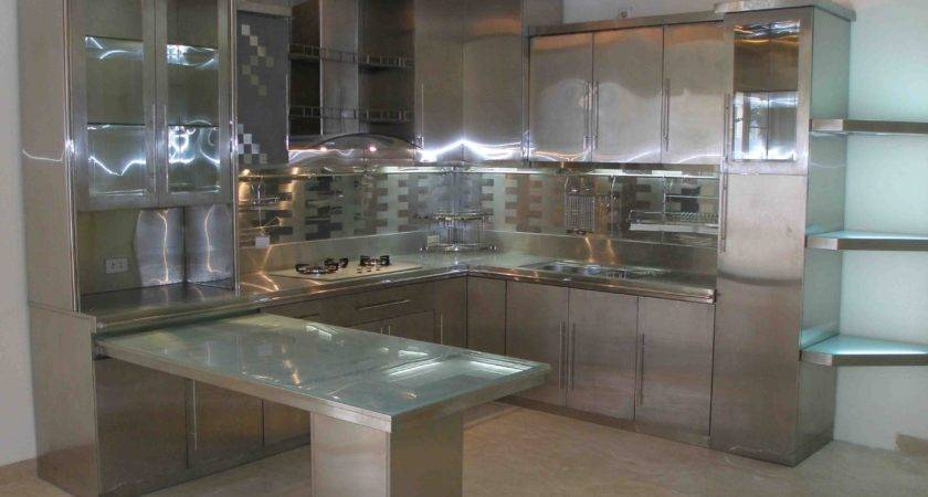 Glow Glass Kitchen Cabinet Shelves Mixed Small Rectangle