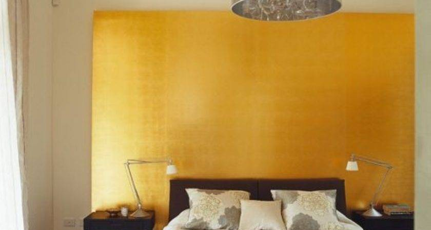 Gold Accent Wall Ideas Remodel Decor
