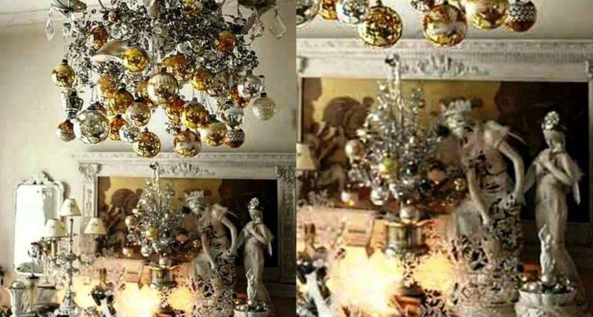 Gold Silver Christmas Interior Decorating Ideas Youtube