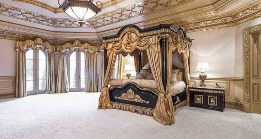 Gorgeous Bedroom Designs Gold Accents