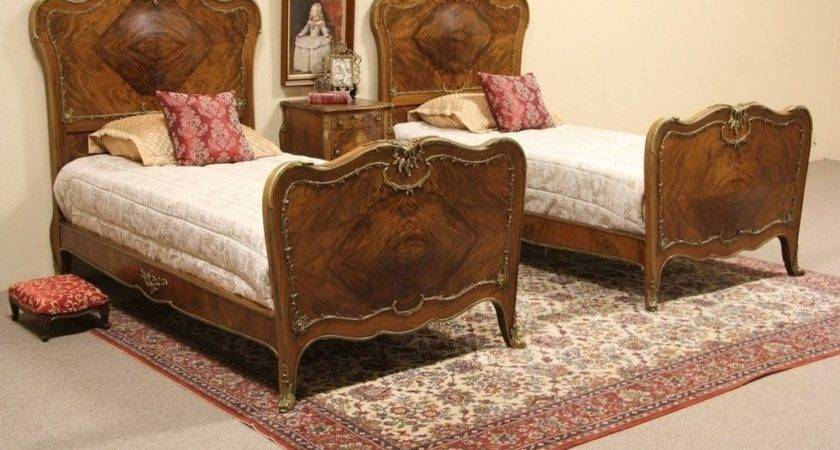 Gorgeous Louis Bedroom Set Bronze Mounts Ebay