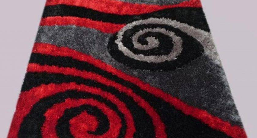 Gray Area Rugs Red Black Grey Rug