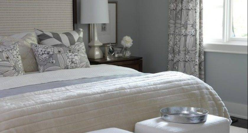 Gray Bedroom Paint Colors Transitional Ici