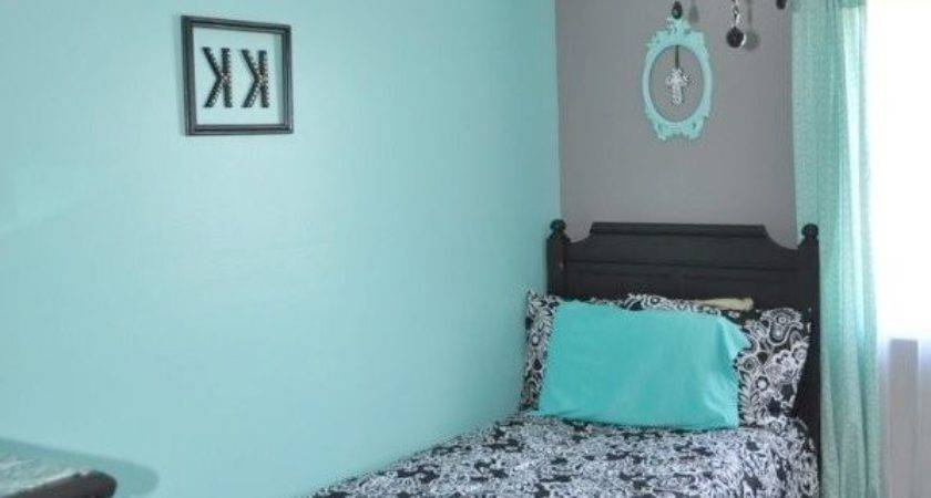 Gray Turquoise Bedroom Home Design Inspiration