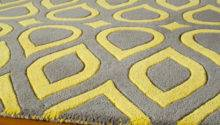 Gray Yellow Area Rug Grey Home