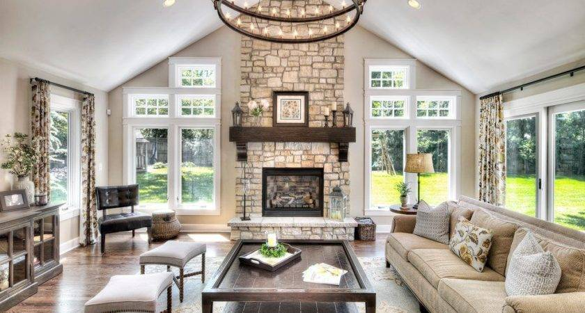 Great Room Interior Design Living Traditional