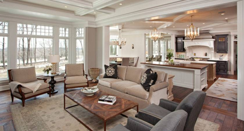 Great Room Transitional Living Minneapolis