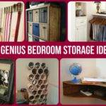 Great Storage Ideas Small Bedrooms House Design