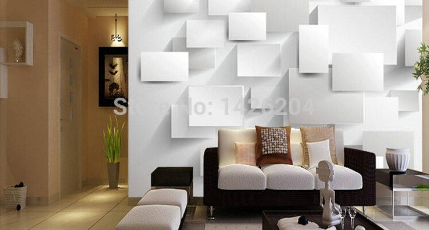 Great Wall Large Murals Living Room Rose