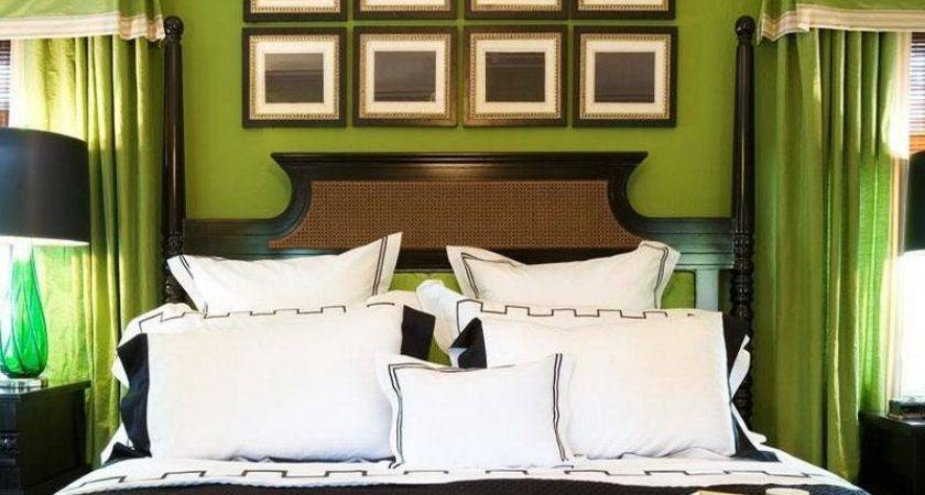 Green Bedroom Decor Photos