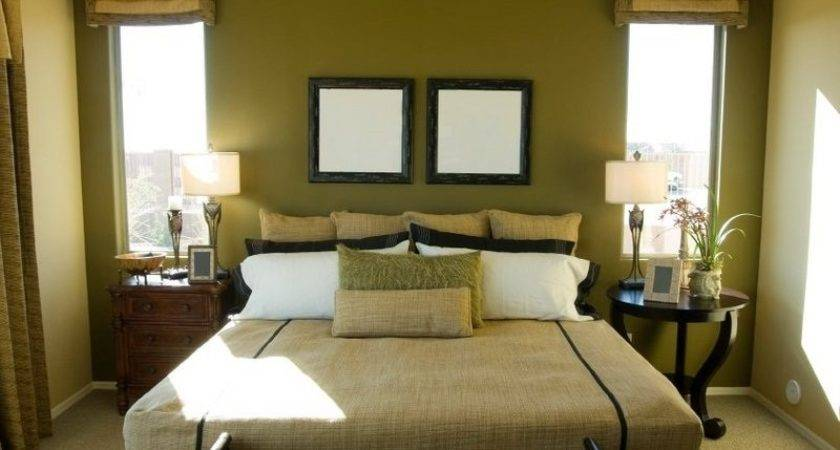 Green Brown Bedroom Designs