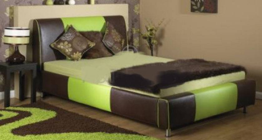 Green Brown Bedroom Real Estate