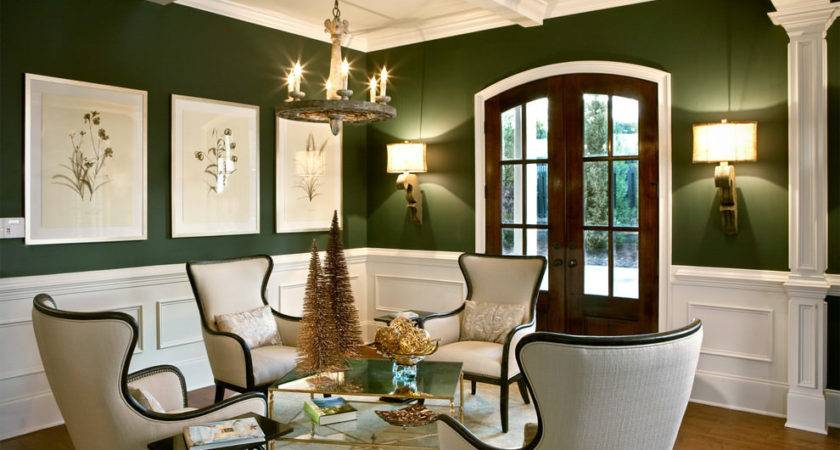 Green Living Room Designs Decorating Ideas Design