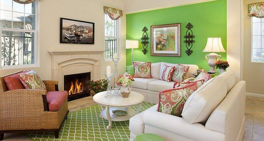 Green Living Rooms Ideas Match