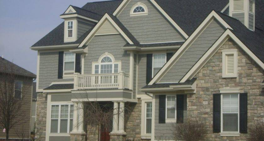 Greige Exterior Paint Benjamin Moore Grey House Color