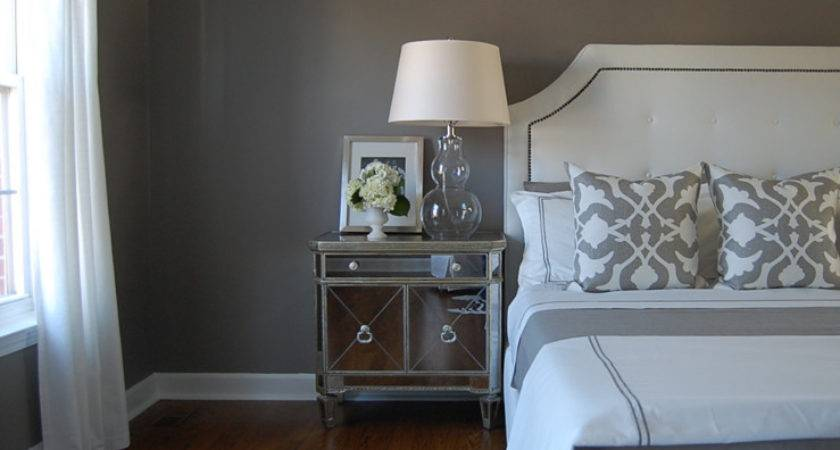 Grey Bedroom Paint Color Design Decor Photos