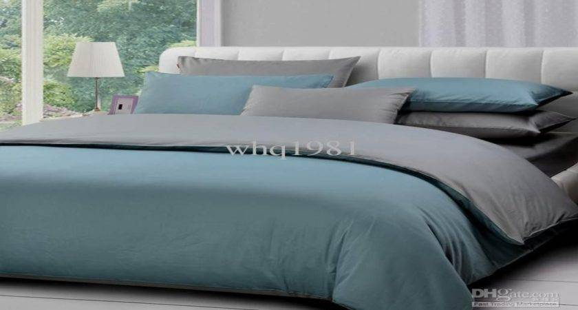 Grey Blue Bedding Gray Bedroom