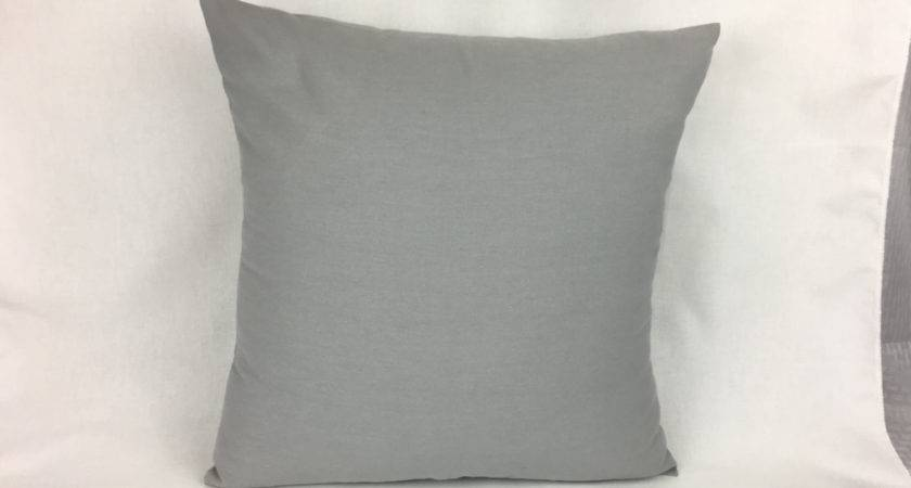 Grey Couch Pillows Gray Pillow Cover Homemakeover