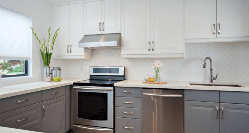 Grey Kitchen Cabinets Awesome Best Ideas White