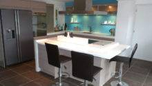 Grey Kitchen Cabinets Turquoise Walls Quicua