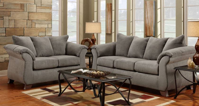 Grey Living Room Set Flash Furniture Sensationsgrey