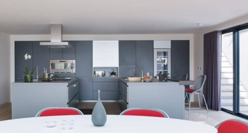 Grey Red Dining Room Housetohome
