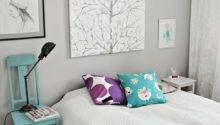 Grey Teal Bedroom Beautiful Scandinavian