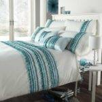 Grey Turquoise Bedroom Bedding