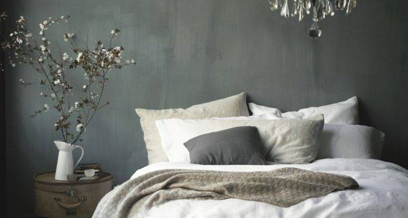 Grey White French Bedroom Interior Design