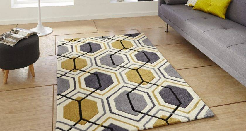 Grey Yellow Rug Best Decor Things
