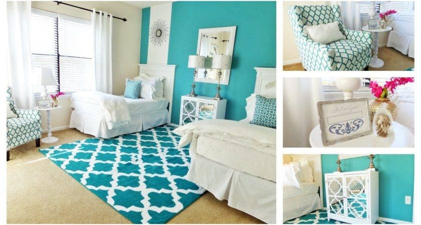 Guest Bedroom Tour One Room Two Beds Youtube