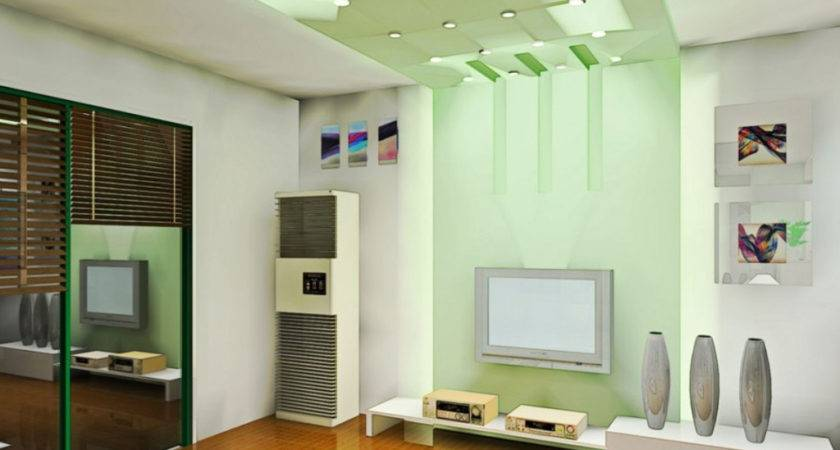 Hall Ceiling Pop Colour Combination Modern False