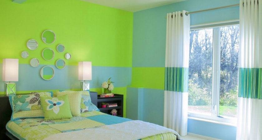 Hall Color Combination Wall