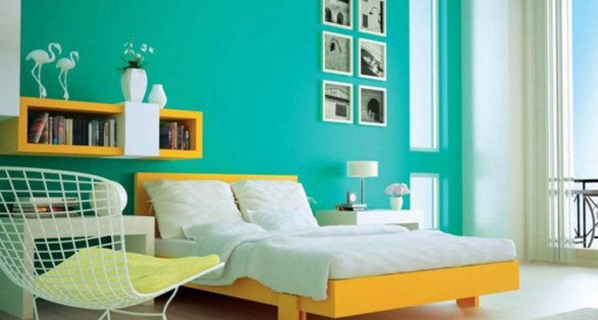 Hall Colour Combination Wall